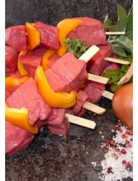 Brochettes de bœuf
